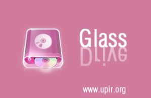 Glass drive icon by upiir