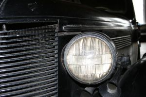 Old car head light by Dom410