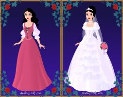Snow White HC by LadyIlona1984