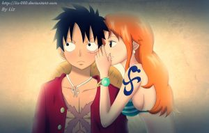 Luffy/Nami by Liz-050