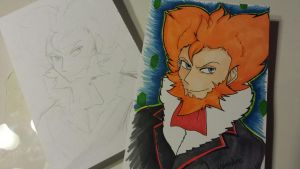 Lysandre drawing done on my new lightbox by yamihp7