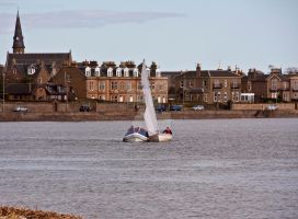 Sailing on the River III by DundeePhotographics