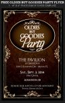 Free Oldies But Goodies Party Flyer Template by Godserv