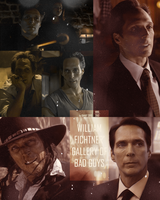William Fichtner gallery of bad guys by DahutYs