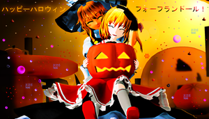 Happy Halloween for Flandre by RaikuHoshigami