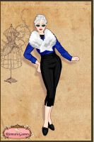 APH: 1950'S style Fem Prussia by mandababe12