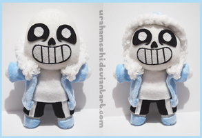 Sans Chibi Plush SOLD by UraHameshi