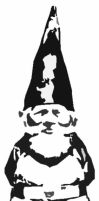 Gnome stencil by ktrcoyote