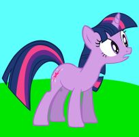 Twilight Sparkle: A First Try Vector by extremeasaur5000