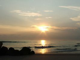 Sunrise at bintan pt 3 by hawick