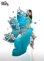 Fantasy in blue by MarcoTulioDesign