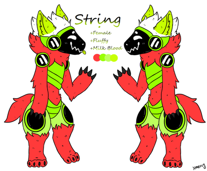 String The Protogen Ref by Miw96