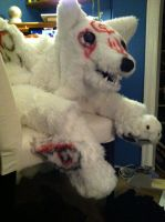 Amaterasu Quadsuit WIP by jinxedcynder