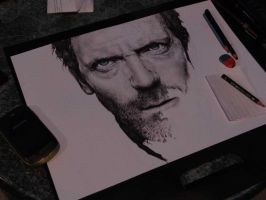 Dr.House in progess by ivan32st
