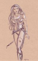 Corset girl by comixjammer