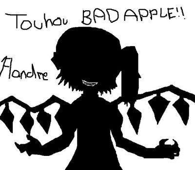 Touhou Bad Apple Flandre by Kennychanx3