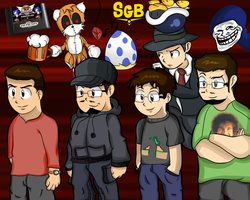 A special SGB fan art by thegamingdrawer
