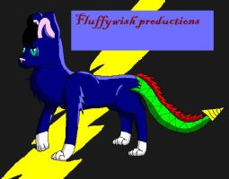 Fluffywish productions logo by fluffylovey