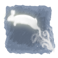 The Rabbit Patronus by Aerie-Faerie