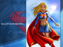 supergirl by particle9