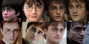 Harry Through The Years by Cjrowland