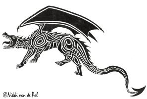 Roaring Dragon Tribal by Nikki-vdp