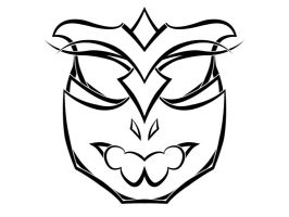 Lineart mask by tok2