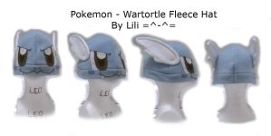 Pokemon Wartortle Hat by LiliNeko
