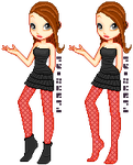 -pixel- Adela Redwood by Crysthal