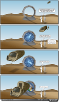 Some Call It The Stargate by XavUK