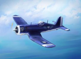 The Lady - F4U Corsair by Lionel23
