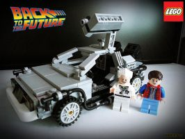 LEGO Back To The Future by areev19