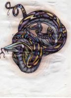 Serpent Peace by freaky7styley