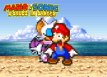 MSWiD - Rouge's Kiss for Mario by KingAsylus91