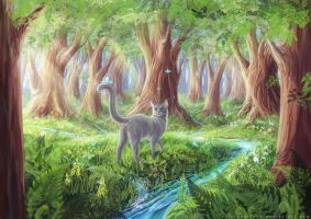 Magical forest I by AlsaresNoLynx