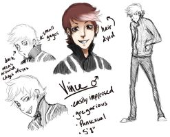 Vince Sketches by Gelidwolf1997
