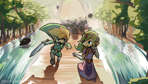 The Wind Waker: Hogs' t'Isle by Daboya