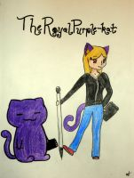 Royal purple Kat by TheRoyalPurple-kat