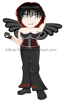 Raven chibified by Blue-Strife