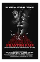 Metal Gear Solid V: Phantom Pain  movie poster by E-Mann