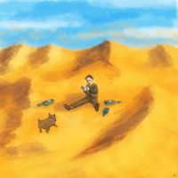 070113 Middle of Nowhere - password, drunkard, pug by popicok