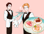 at your service by genicecream