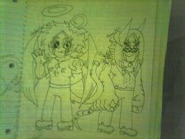 Celestial And Doom Will Teen Titans Go Style by Will6790