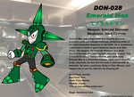 DON-028 Emerald Man by Ocsttiac