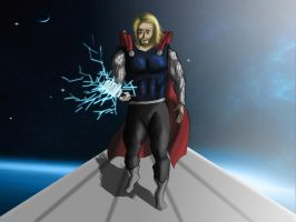 Thor,.~ by ArchiSimon