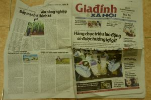 Vietnam newspapers-26 by Vnstockphoto