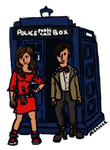 Commission - Doctor Who by Merleee