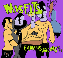 Misfits Famous Monsters by gambinop