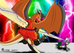 Charizard dies by Zetaby2594