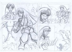 Super Spand X comic page test_4 by Animewave-Neo